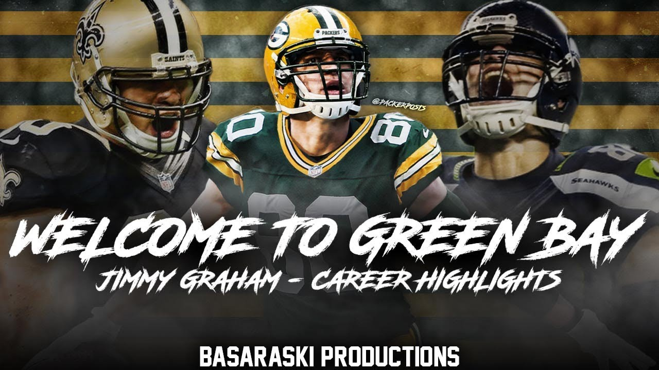 51c2e0cd5 Jimmy Graham - Welcome to Green Bay - Career Highlights - YouTube