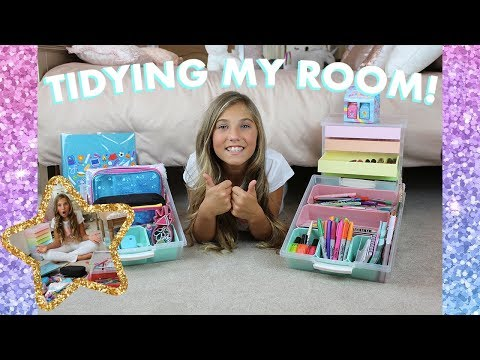 Tidying Up My Room! (clean my bedroom with me!) | Rosie McClelland