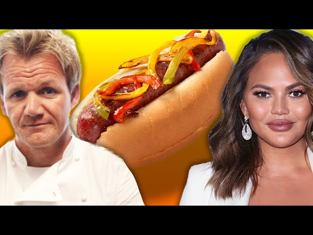 Which Celebrity Makes The Best Hot Dog?