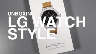LG Watch Style Unboxing and Tour!