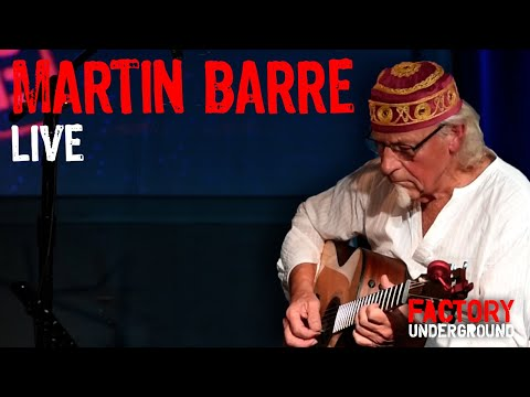 """Martin Barre Live at Factory Underground - """"Cant Find My Way Home"""" Mp3"""