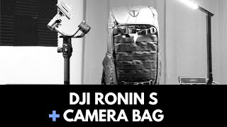 DJI Ronin S backpack setup
