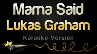 Lukas Graham Mama Said Karaoke Version.mp3