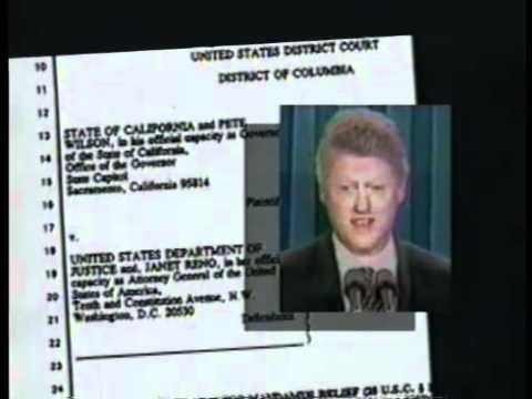 1996 Presidential Campaign Commercial - Illegal Aliens
