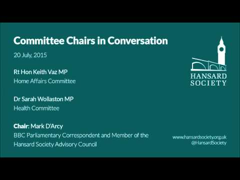 Committee Chairs in Conversation