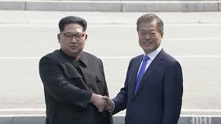 Baixar Moon Jae-in and Kim Jong Un meet for historic summit of the Koreas