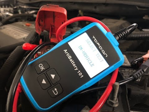 How To Easily Test Car Battery & Cold Cranking Amps CCA