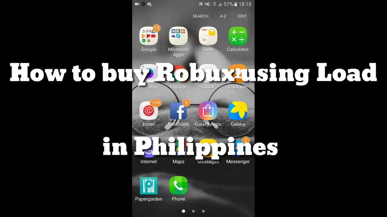 How To Buy Robux Using Load Philippines Only Youtube