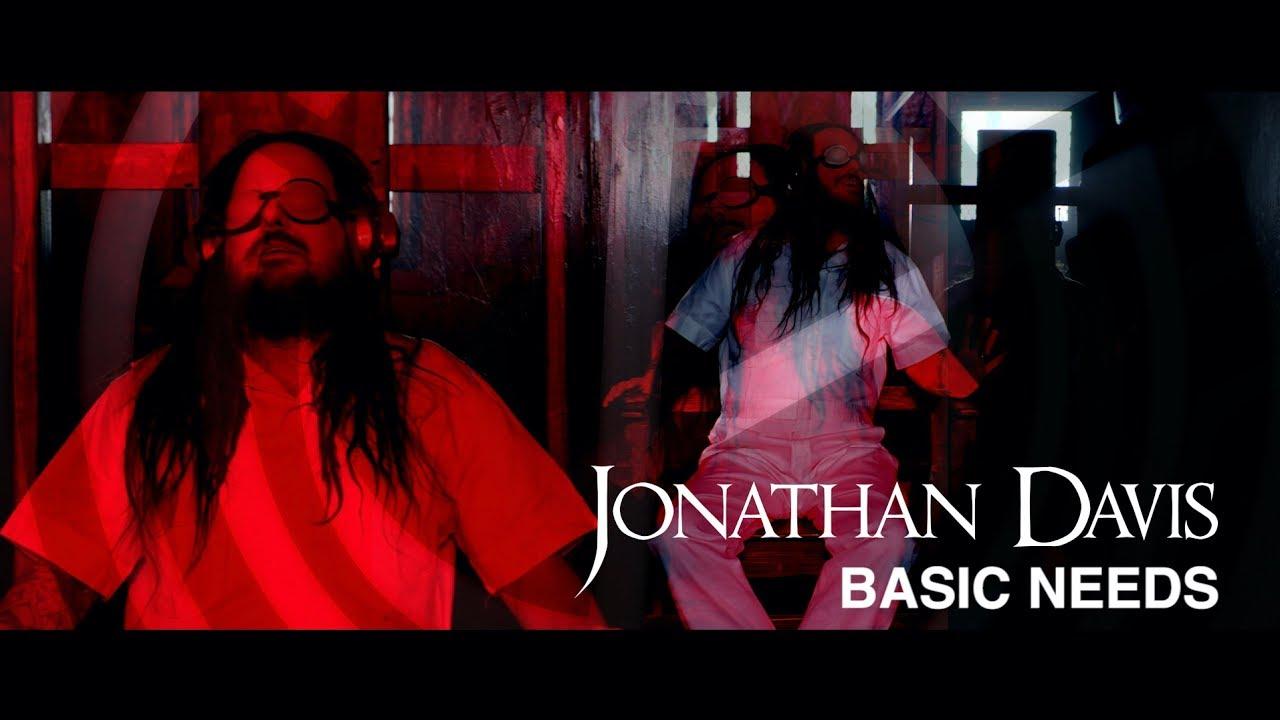 """美國重金屬樂團KORN主唱JONATHAN DAVIS歌曲""""Basic Needs""""MV發佈"""
