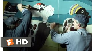 Afterimage (2017) - Destroying the Art Scene (5/8) | Movieclips