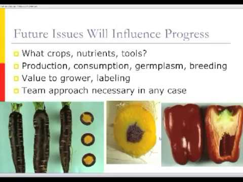 Breeding for Nutrition Part 1: Prospects and Challenges for Plant Breeders