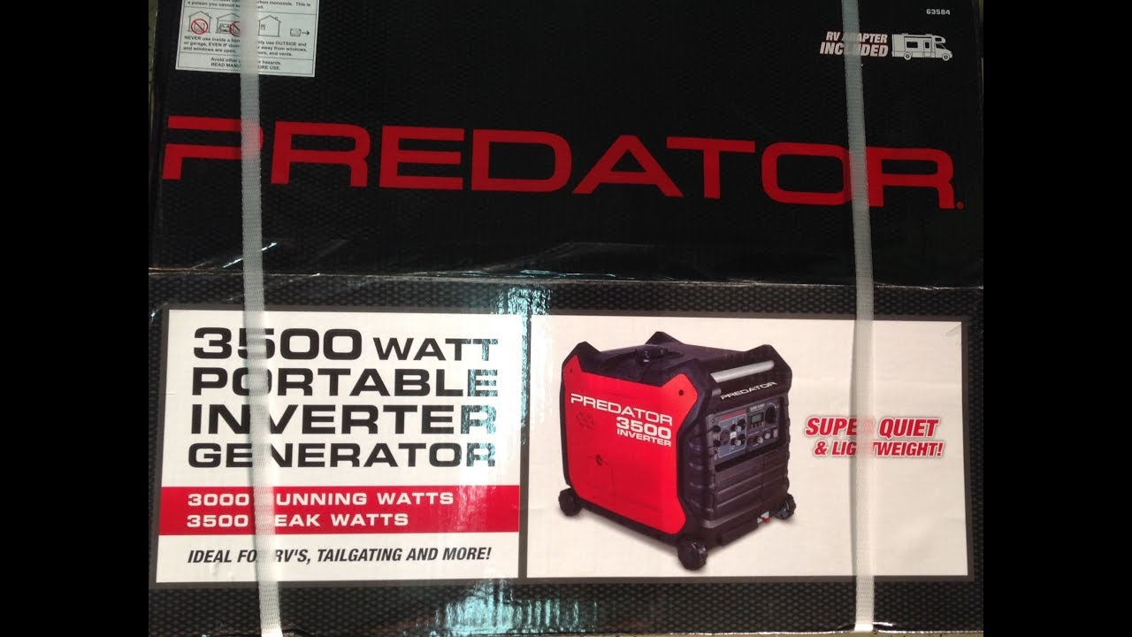 Harbor Freight Predator 3500 Inverter Generator Review