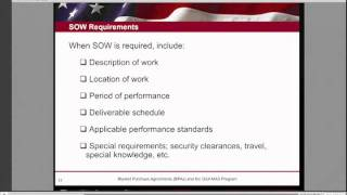 GSA Training: Blanket Purchase Agreements (BPAs) - 3 of 6
