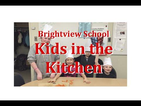 APPLE Schools Highlights - Brightview School - Kids in the Kitchen, Edmonton, Alberta