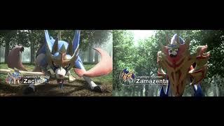 Pokemon Sword and Shield: Legendary Battle! Vs. Zacian and Zamazenta [Fanmade]