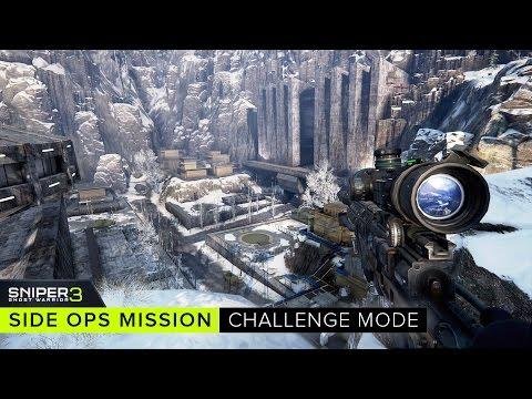 Sniper Ghost Warrior 3 Side Ops Mission:  Challenge Mode