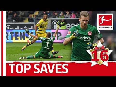 Lukas Hradecky - Top 5 Saves - Bundesliga 2017 Advent Calendar 16