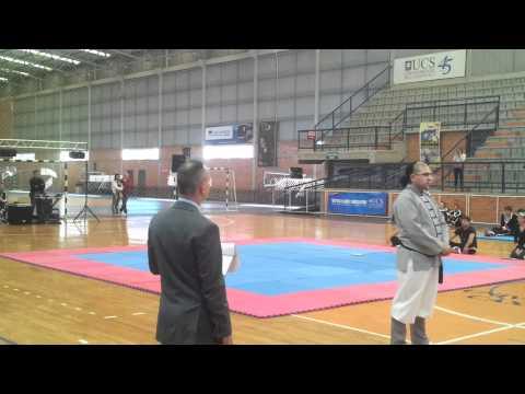 (Hapkido) Apresentação Nunchaku - Arthur Maia - Copa Um Yang Kwan 2012