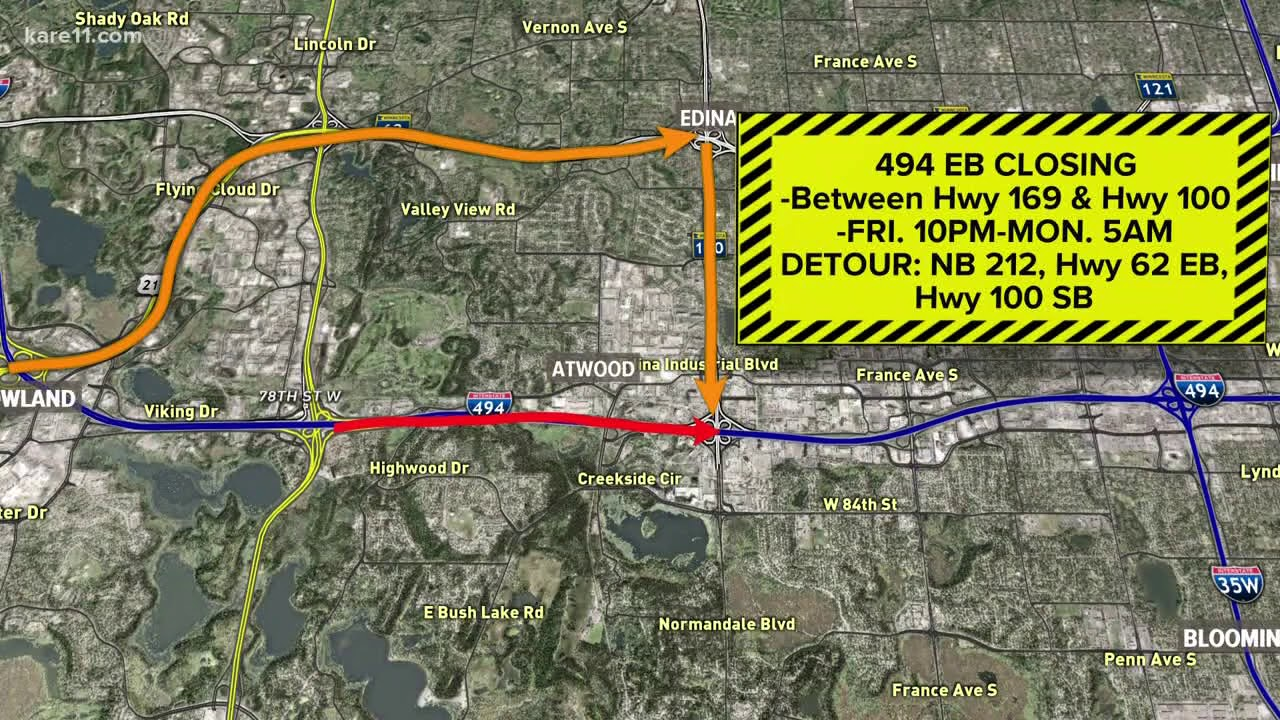 Drivers! Get ready for more metro road closures