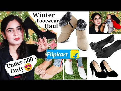 Affordable footwear Haul Under 500/- | Flipkart Winter Footwear Haul| Online Shopping Review from YouTube · Duration:  15 minutes 41 seconds
