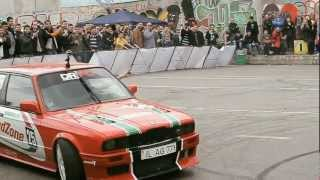Первый этап Чемпионата Молдовы по Автослалому 2012