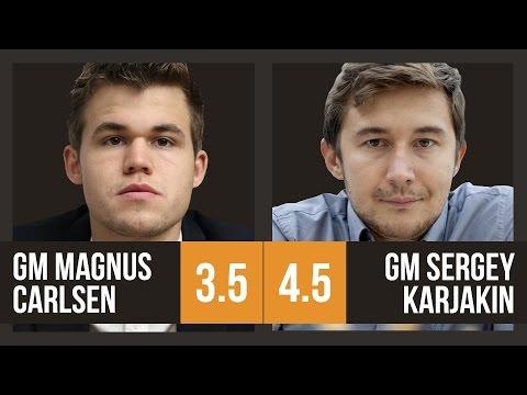 Magnus Carlsen vs Sergey Karjakin | World Championship Game 8