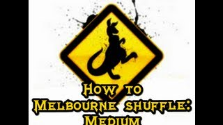 How to Melbourne Shuffle (English - Spanish): Medium (By Kalamede)