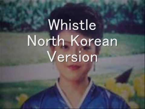 "North Korean Pop Song ""Whistle"": North vs. South Korean vs. ""Japanese"" Version 北朝鮮歌謡「口笛」"