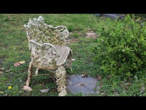 Sitting Pretty - Benches of Hollywood Cemetery