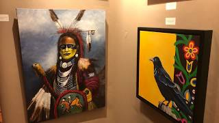 Best Of Show Preview SWAIA    Class III: Painting, Drawing, Graphics & Photography Clip 8
