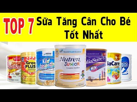 TOP 7 Sữa Tăng Cân Cho Bé Tốt Nhất Hiện Nay - SBT VLog 5