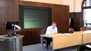 ESRC Green Criminology Research Seminar 1 - Pro Vice Chancellor Nigel South