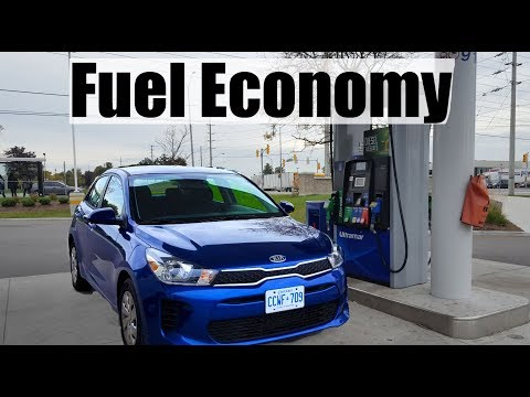 2018 KIA Rio - Fuel Economy MPG Review + Fill Up Costs