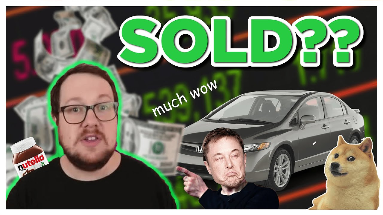 HE SOLD HIS DOGE?!