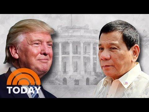 President Trump Invites Controversial Philippines President Duterte To White House   TODAY