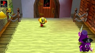 Pac-Man World - Gameplay PSX / PS1 / PS One / HD 720P (Epsxe)