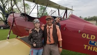 BARNSTORMING WITH SMITHSONIAN AIR AND SPACE AND AIR FORCE AIRMAN