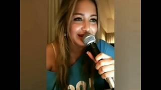Karina - Me Vas A Extrañar (Karaoke en vivo) 🎤🎵