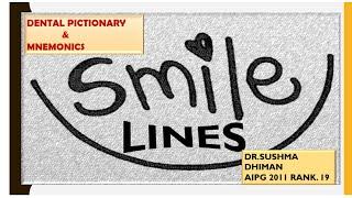 #NEET PG MDS# SMILE LINE IN ORTHODONTICS