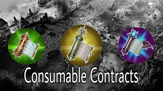Consumable Contracts: A Quick Explanation
