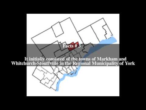 Markham (electoral district) Top # 5 Facts