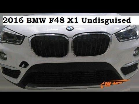 2016 bmw f48 x1 undisguised spy shot youtube. Black Bedroom Furniture Sets. Home Design Ideas