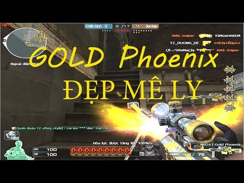 SET Barrets Gold Phoenix - Đại Bàng Đẹp Mê Ly - Thư Top_ZomBie