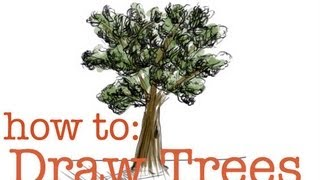 How to Draw Trees: EASY Tutorial!