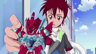 B-Daman Fireblast Ep1:Crank Up the Heat! Garuburn!