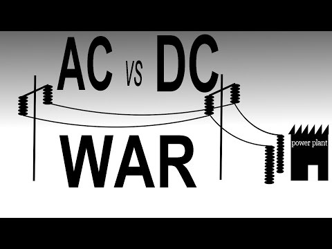 """""""AC current vs DC current"""" Why do we use AC current"""