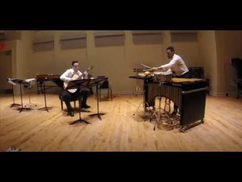 Partita: Suite for Guitar and Percussion - Paul Lansky (Allemande and Gigue)