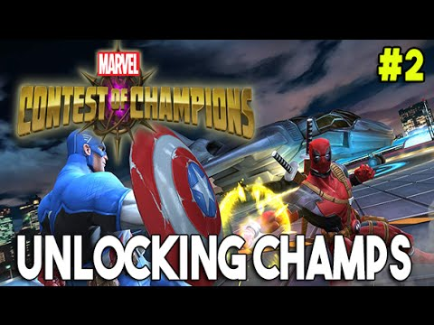 Marvel : Contest of Champions #2 | Unlocking 3 STARS Champions (Plus New Alliance)