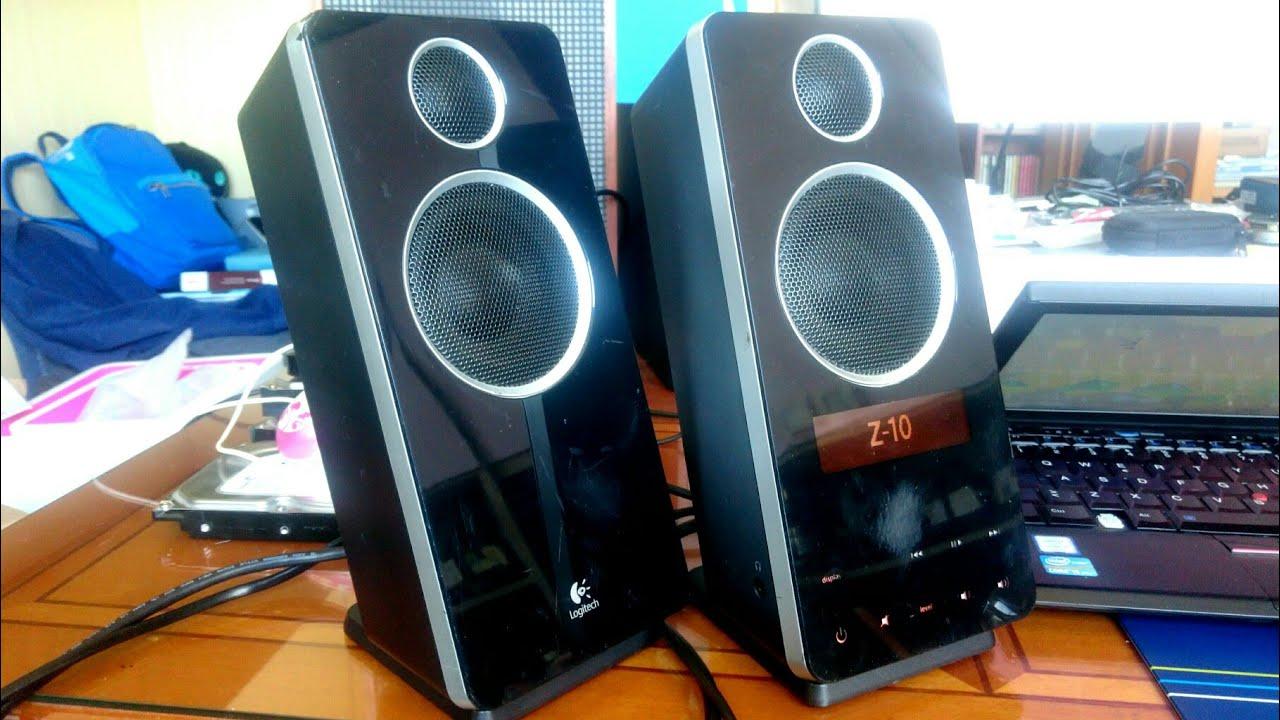 Logitech Z-10 Speaker System Treiber Windows XP