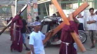 Holy Week in San Antonio, Nueva Ecija, Philippines(Video)